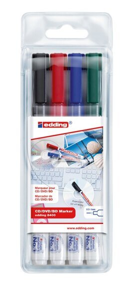 edding edding 8400 CD//DVD//BD marker 0,5-1 mm ca schwarz