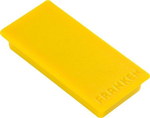 20 mm, 8 St/ück gelb Franken HM20S//8 Haftmagnet Motiv Happy