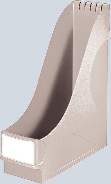 Polystyrol DIN A4 LEITZ Stehsammler extrabreit grau