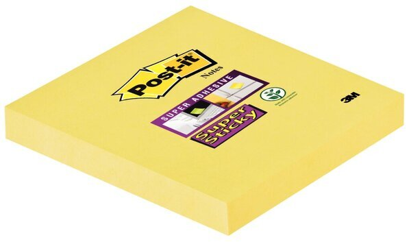 Post-it® Super Sticky Notes #65412SY 1 Block á 90 Blatt,