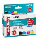 Edding Tinte 439 MultiPack 4St. Brother LC1240 farbig,...